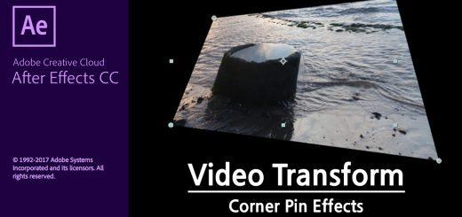 에프터이펙트 영상 변형