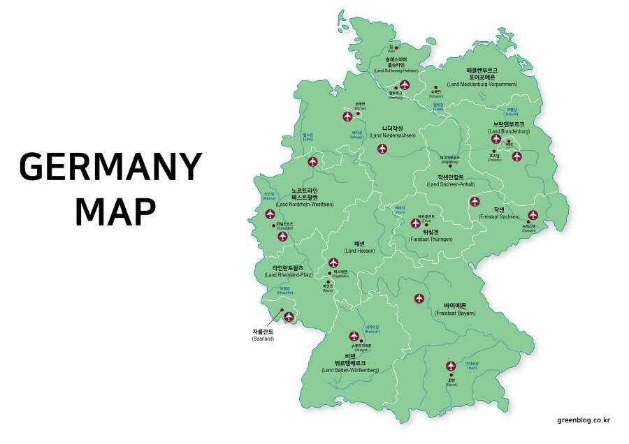 독일 지도